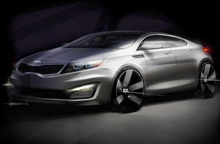 Next Kia Optima Headed For New York