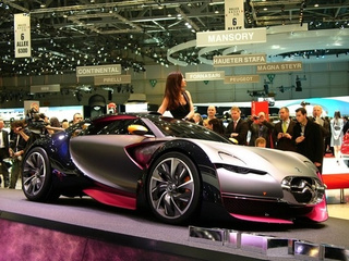 Citroen Survolt Concept: Futuristic, Pink And Sexy
