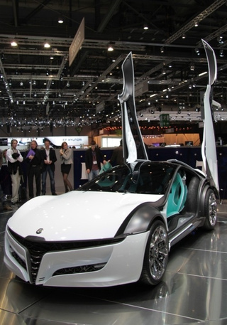 Bertone Pandion Concept: Simply... Gorgeous