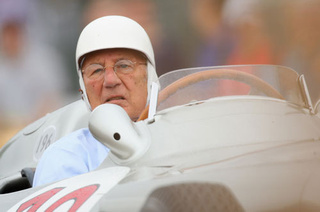 F1 Hero Sterling Moss Falls Down Elevator Shaft, Breaks Ankles