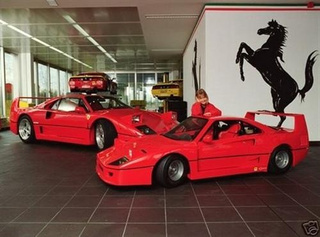 Kid-Sized Ferrari F40 For $25,000