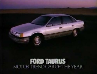 The 1986 Ford Taurus, Car Of The Damn Year!
