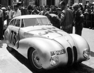 Restored BMW 328 Kamm Coupé To Debut At Villa d'Este