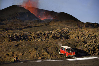 Top Gear Filming On Active Volcano