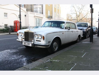 1972 Rolls-Royce Silver Shadow Down On The Edinburgh Street