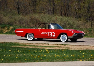 Police Brutality '63 T-Bird Nukes Transmission, Team Not Fazed
