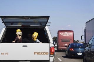 Artist Hijacks Rush Hour With Guerrilla Puppet Show