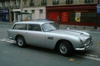 Aston Martin DB5 Shooting Brake: The Gentleman's Wagon