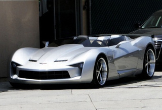 Corvette Stingray Concept Goes Convertible