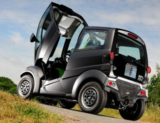 T.25 City Car: The Segway Of Automotive Egress