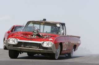 '63 Thunderbird Race Car + BMW V12 + Ammo-Can Intake = WIN!