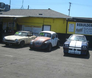 Project Car Hell, Junkyard Fixer-Upper Edition: Fiat Spider, VW Beetle, or Shelby Charger?