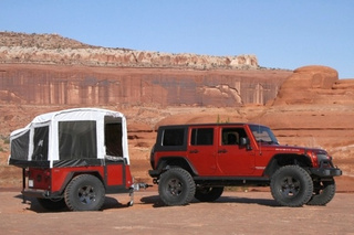 Jeep Pop-Up Trail Camper Accessory Is Epic