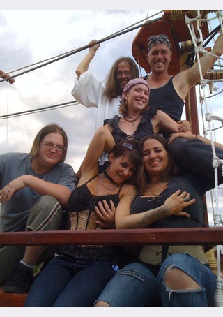Wenches On Street-Legal Pirate Ship Ready To Keelhaul Denver