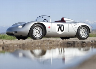 Stirling Moss Crashes $1.7 Million Vintage Porsche