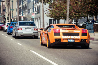 Lambos and Ferraris Let Loose on California Roads. Welcome to Targa Trophy