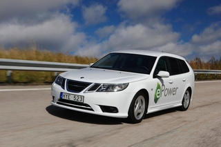 Saab 9-3 ePower: An Eclectic Electric Wagon