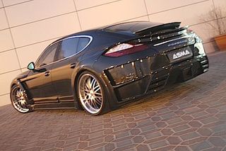 ASMA Porsche Panamera: More Scoops Than An Ice Cream Truck