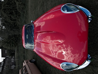 The Jaguar E-Type's Hood is Longer Than You Think