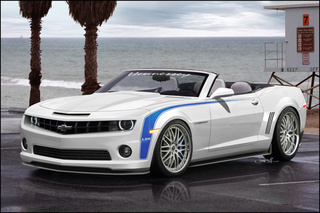 Hennessey Shows Off 755 HP Camaro Convertible