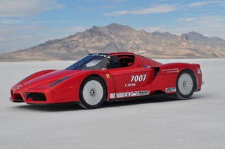 Twin-Turbo Ferrari Enzo Sets 238 MPH Record