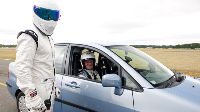 Buzz Aldrin The Star In A Reasonably-Priced Car, U.S. Stig Is Rubens Barrichello?
