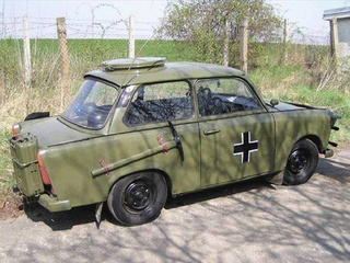 The Army Trabi: Somewhere Between Awesome and Pathetic