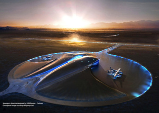 Richard Branson's Spaceport Is Actually Being Built