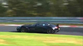 Aston Martin One-77 Takes To Nürburgring