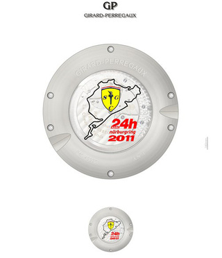 Ferrari P4/5 Competizione: The Watch