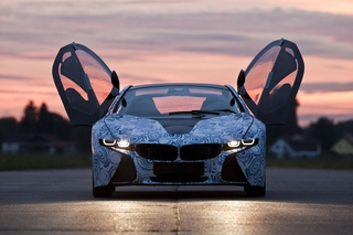 BMW Vision Sportscar: A Plug-In Hybrid Bird Of Prey
