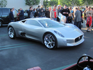 The Jaguar C-X75 Gives Cars & Coffee a Conceptual Caffeine Boost