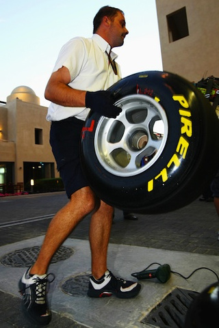 This is Pirelli's New F1 Rubber