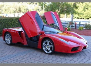 For $1,230,000, This Enzo has Advantages Over a Locomotive, Which You Also Can't Afford