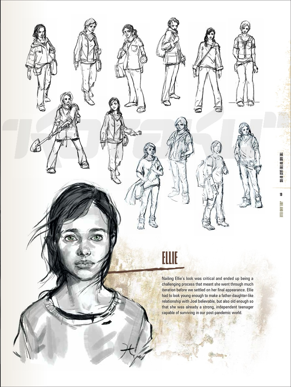 Character Design Pdf Books : Lordy the last of us art book is scary beautiful kotaku