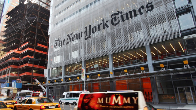 Chinese Hackers Infiltrated The New York Times' Computer Networks for Four Months