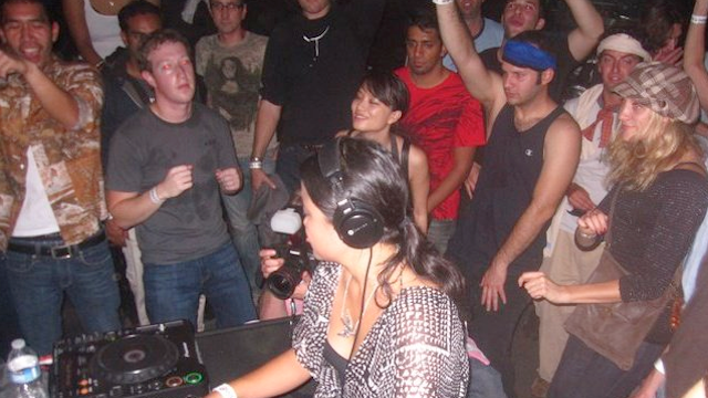 Is This a Picture of Mark Zuckerberg at a Rave?