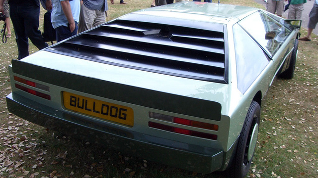 The Bulldog Was Aston Martin's Mid-Engined Dream