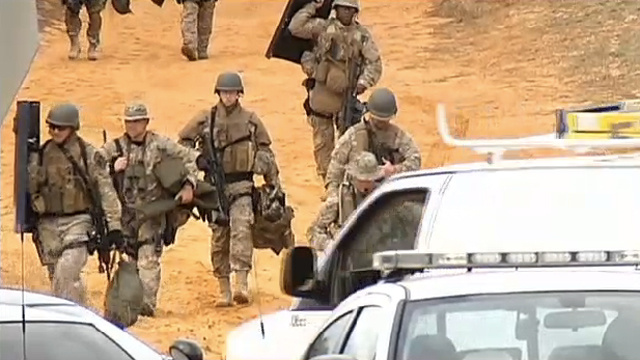 Hostage-Taking 'Doomsday Prepper' Passes 30th Hour of Bunker Standoff with Cops