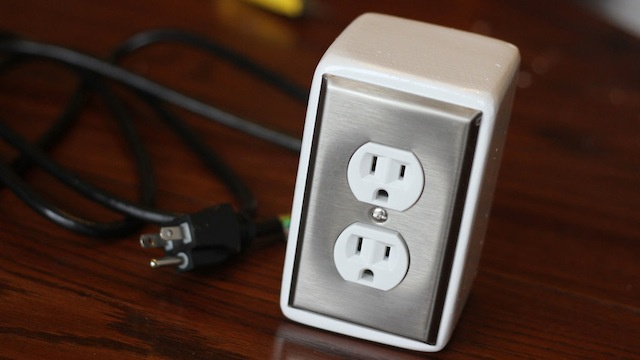 This DIY Power Outlet Adds a Pair of Good-Looking Plugs to Any Desk or Surface