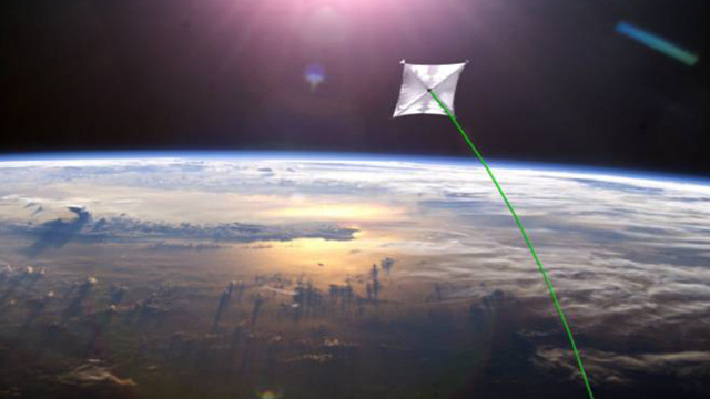 NASA will launch the largest solar sail in history as soon as next year