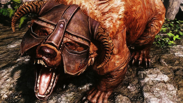 Adventure In Skyrim Alongside A Legendary Drunken Bear