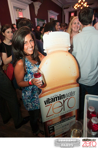 We Rang In the 2010 Football Season with Mini-Wieners and Vitaminwater Zero. You?