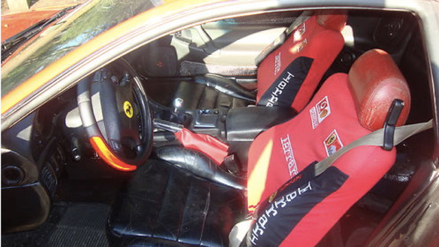 This Mitsubishi 3000GT Does Not Make A Convincing Ferrari F430