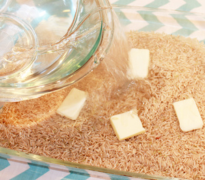 Oven-Bake Brown Rice to Remove Guesswork