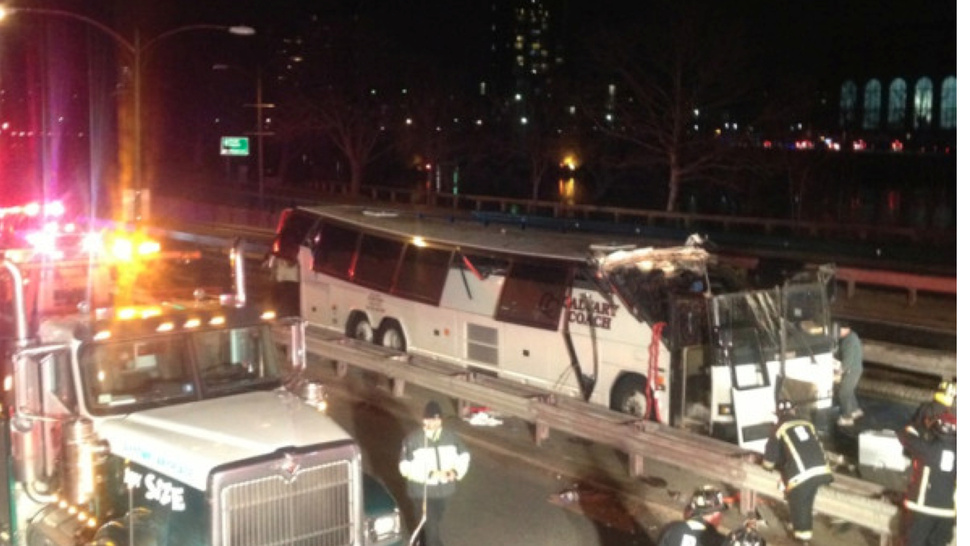 Bus Driver Tries To Go Under Low Bridge In Boston, Shaves Roof Off, Injures 34 People