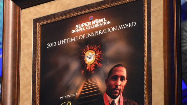 Click here to read Ray Lewis's Super Bowl Cleats: A Glittering Light In The Shadow Of The Almighty