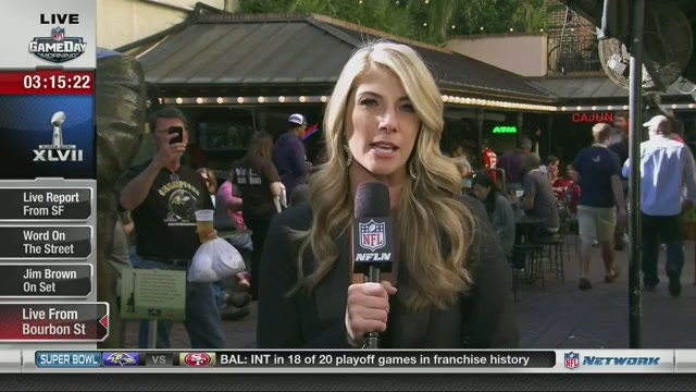 Man Interrupts NFL Network Live Shot, Rips Seam In Fabric Of Sp…