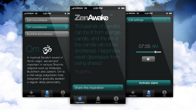 Click here to read ZenAwake for iPhone Wakes You Up Gently, Offers a Better Start to Your Day