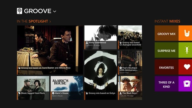 Groove Music Player Learns While You Listen, Builds Custom Mixes, Helps You Rediscover Music You Own